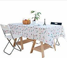 Cotton and Linen Table Cloth Idyllic Rural Food
