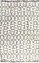 Cotton Anthracite Rug by Bloomsbury Market - Brown