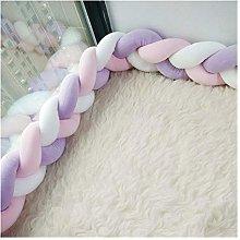 Cotton Bed Sleep Bumper Braid Manual Decoration