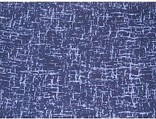 Cotton Fabric - Textured Blender in Navy (Per