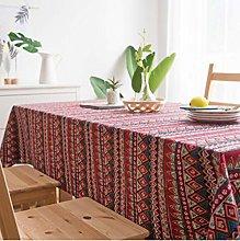 Cotton Linen Art Desk Cloth Art Small Fresh