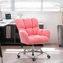 Cotton Linen Computer Chair Adjustable Height Desk
