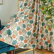 Cotton Linen Curtains Cartoons Tree Printed