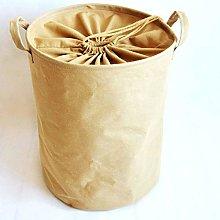 Cotton Linen Dirty Laundry Basket Foldable Storage