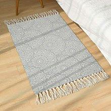Cotton Mandala Area Rug Green Carpet Living Room