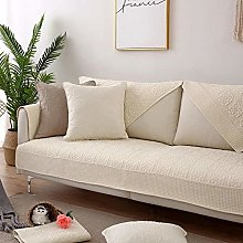 Cotton non-slip sofa throw cover for
