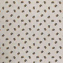 Cotton Rich Linen Look Fabric Digital Miniature
