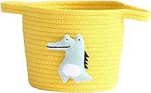 Cotton Rope Woven Storage Basket Desktop Cosmetics