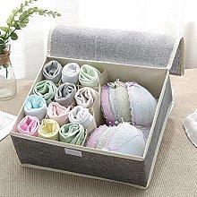 Cotton Underwear Bra Organizer Storage Box 7