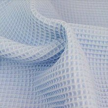 Cotton Waffle Pique Honeycombe Fabric Material -
