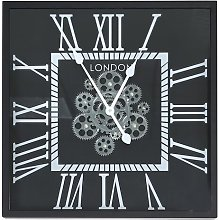 Couch Silent Wall Clock Astoria Grand