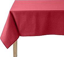 Coucke 235cm Hermes Plain Round Cotton Tablecloth