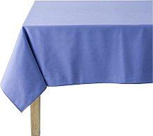 Coucke Tablecloth Round Linen Cotton 235cm Blue