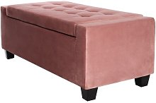 Couey Upholstered Storage Bench Rosalind Wheeler