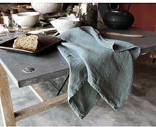 Couleur Chanvre - Linen Tea Towel - Water Green