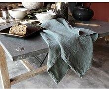 Couleur Chanvre - Linen Tea Towel - Water Green