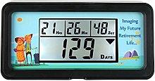 Countdown to My Retirement-Digital 9,999 Days