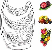 Countertop 3 Tier Fruit Basket, 3 Tier Hammock