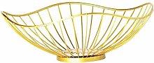 Countertop Fruit Bowl Iron Table Fruit Basket Tray