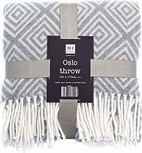 COUNTRY CLUB Oslo Geometric Design Throw/Blanket