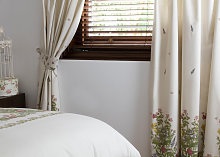 Country Dream Bella Mae Lined Curtains with Tie