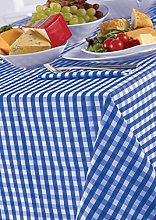Country Look Gingham Bluebell 52x70in (132x178cm)