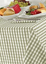 Country Look Gingham Sage 52x70in (132x178cm)