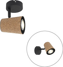 Country spot black with cork - Corky