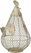 Country Style Cream Grey Chicken Hen Wire Egg
