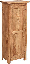 Country-style solid lime wood natural finish