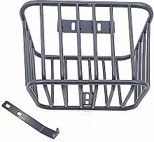 courti Bike Front Basket Thickened Metal Removable