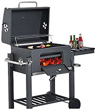 COUYY Trolley large barbecue grill for outdoor