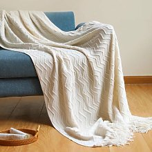 Cover of Sofa Thickening Cover Tricothed Pompon