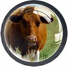 Cow Cabinet Door Knobs Handles Pulls Cupboard