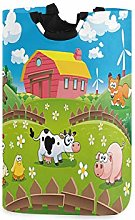 Cow Fox Chicken Pig Horse in The Fences Laundry