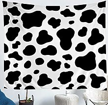 Cow Pattern Tapestry Cow Print Tapestry Wall