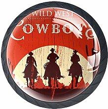 Cowboy Horse Knob Handles Door Knobs Cabinet Pulls