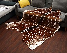 Cowhide Rug Black and White Cow Skin Hide Area