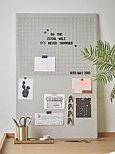 Cox & Cox Grey Metal Letter Board