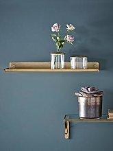 Cox & Cox Slimline Metal Shelf