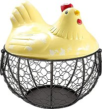 Coycoye Egg Basket,Eggs Holder Basket, Organizer