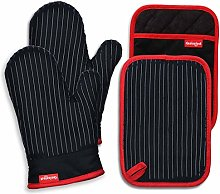 Coziselect Oven Mitts and Pot Holders Set, with