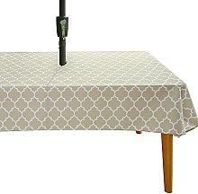 Cozomiz Waterproof Outdoor Garden Tablecloth with