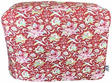 CozyCoverUp® Dust Cover for Food Mixer in Red
