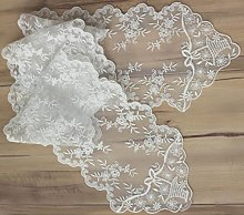 Cozymom Wedding Tablecloth Table Topper Lace
