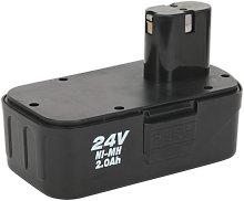 CP2400MHBP Power Tool Battery 24V 2Ah Ni-MH for