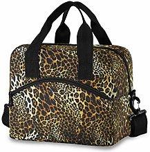 CPYang Animal Leopard Print Lunch Bag Reusable