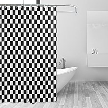 CPYang Black and White Checked Racing Flag