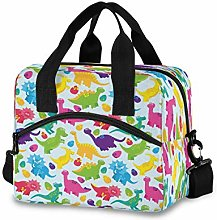CPYang Colorful Cute Dinosaurs Lunch Bag Reusable