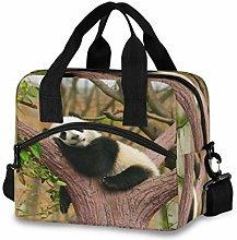 CPYang Cute Animal Panda Tree Lunch Bag Reusable